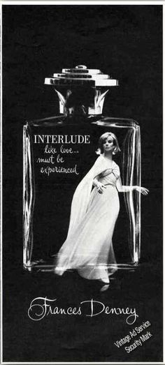 "Interlude Perfume By Frances Denney ""Like Love"" (1967)"