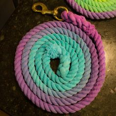 Ombre Horse Lead Rope by EqCollections on Etsy