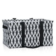 Deluxe Utility Tote - Black Links
