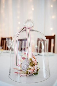 Designs For Garden Flower Beds Protea Protea Wedding, Wedding Table Flowers, Wedding Flower Decorations, Wedding Themes, Table Decorations, Wedding Ideas, Water Centerpieces, Floral Centerpieces, Table Arrangements