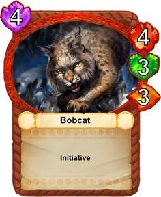 Bobcat - Catamancer - The 100% cat themed game! - Artist: Devin Elle Kurtz (TamberElla)