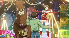 Itsudatte My Santa! Merry Christmas And Happy New Year, Christmas Carol, Christmas Themes, Star Wars Holiday Special, Knights Of Sidonia, Mister And Misses, Japanese Christmas, Girl Fights, Golden Age