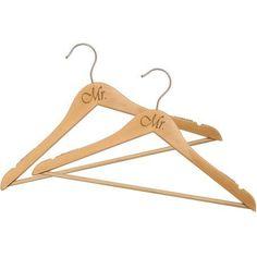 Mr. and Mr. Bridal Hanger Set, 2-Piece Set