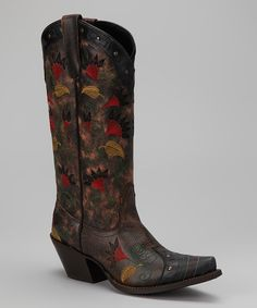 Brown Clove Geneva Cowboy Boot - Women