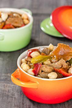 RECETA CASERA | El estofado de seitán es una receta vegana muy rica en proteínas. Además del seitán, también lleva garbanzos, verduras y setas de temporada.