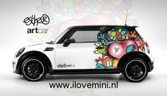 Art by www.esthervandenhoek.nl  car bij www.ilovemini.nl