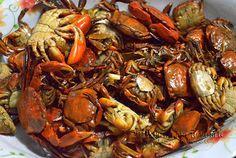 kinirog a kappi, stir-fried river crabs ~ PINAKBET REPUBLIC