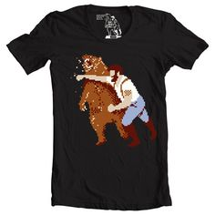 Hey, I found this really awesome Etsy listing at https://www.etsy.com/listing/130478921/mens-retro-haymaker-videogame-t-shirt