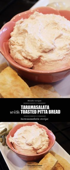 If you haven't tried taramasalata before, this recipe is PERFECT! Learn how to make it by clicking through and you'll be glad you did later. This is a great dish to bring to potlucks, picnics or as a hearty snack for visiting guests. Don't forget to repin for later!