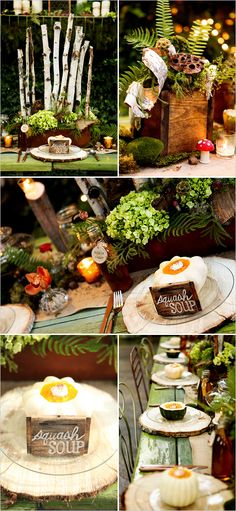fairy tale wedding ideas - Earth and Tree