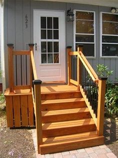 Best Back Door Steps Ideas Ok So You Need More Than A 640 x 480