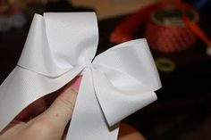 DIY Game Day Bows!