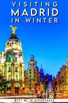Visiting Madrid in Winter | Visit Madrid | Spain Travel | Why you need to add Madrid to your Spain Itinerary | Spanish Capital | Madrid Itinerary | Short vacation to Madrid | Europe in Winter | Things to do in Madrid | Things to see in Madrid | Madrid in 2 Days | Weekend in Madrid | Winter in Madrid | Christmas in Madrid | New Years in Madrid | What to do in Madrid when it rains | The best things to see in winter in Madrid | #EuropeWinter #Madrid #Spain #visitMadrid #VisitSpain Short Vacation, Vacation Trips, Spain Travel, Travel Europe, Top Cities In Spain, Visit Madrid, Winter Things, Backpacking Asia, Travel Reviews