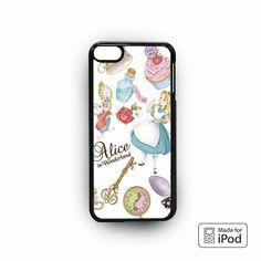 Alice Wallpaper for apple case iPod 4/iPod 5/iPod 6