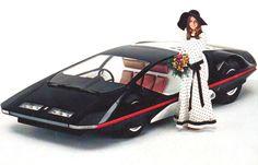 1970 Ferrari Modulo. This photo is fantastic!