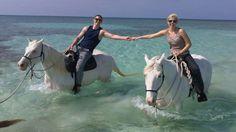 Horseback riding #GrandLucayan #YearOfYes