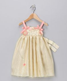 Take a look at this Yellow Fruitti Tutti Dress - Infant, Toddler & Girls by Blink & C'est Chouette on #zulily today!