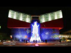 [HD]大阪ベイエリアのXmasイルミネーション 2012 Illuminations in Osaka Bay Area Japan