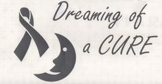 Dreaming of a Cure - cancer awareness decal www.teambethcancerawareness.com