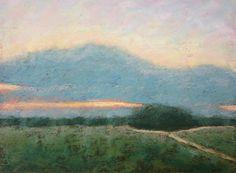 Divergent Paths - Original Pastel Painting by Paige Smith-Wyatt
