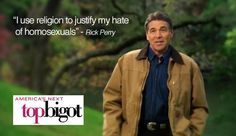 Rick Perry is a douche!