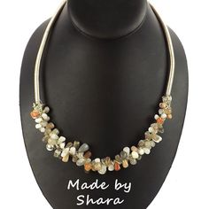 Add these White Moonstone irregular plain drops to your collection for some exciting designs. jewellery maker.com