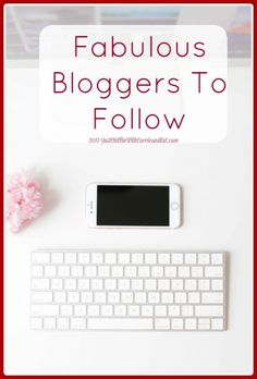 Fabulous Bloggers To Follow - Just Chillin With Carrie and Kat