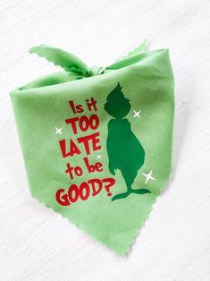 Grinch Christmas Party, Christmas Mason Jars, Christmas Dog, Xmas, Christmas Fabric Panels, Puppy Bandana, Bow Making, Dog Crafts, Doggy Stuff