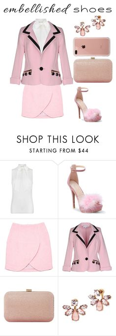 """Untitled #77"" by jessie-j20 ❤ liked on Polyvore featuring MICHAEL Michael Kors, WithChic, Carven, Bencivenga Couture, Dune, Marchesa and Belkin"