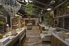 Terrain is a home and garden store.  But I want this as a room in my dream house.