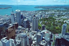 The view from the Sky Tower Auckland, New Zealand (part of my A view from the top series on quirkylittleplanet.com)