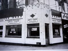 White Tower - was on the corner of Broad st and Boulevard. Used to walk with Nana and get square burgers.