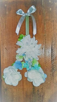 Personalized Monogram Letter A Shabby Chic Floral Wall Hanging Letter A Shabby Chic Floral Wreath Wall Door Decor Hanging Nursery Decor Gift by on Etsy Hanging Letters, Baby Girl Gifts, Floral Wall, Monogram Letters, Beach Themes, Vintage Gifts, Design Crafts, Rustic Decor, Nursery Decor