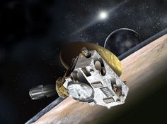 The New Horizons spacecraft, depicted in this artist's rendering, is set to come within just a few thousand miles of Pluto. It is expected to take the first up-close photos of the dwarf planet.