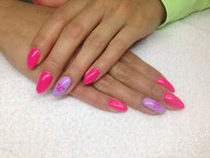Gel Prima Ballerina & purple Pastel :) My Nails, Ballerina, Pastel, Purple, Beauty, Beleza, Cake, Ballet Flat, Ballerinas