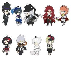 Hobby Stock Pic-Lil! - Black Butler: Book of Circus Trading Strap 10Pack BOX