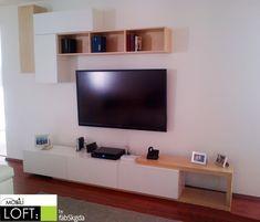 centros de entretenimiento muebles contemporaneos minimalistas