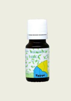 Bazalková silica, éterický olej 10ml