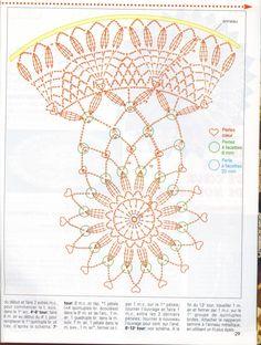 Mini Trellis Doily pattern by Adrienne R. Crochet Doily Diagram, Crochet Mandala Pattern, Crochet Stitches Patterns, Doily Patterns, Thread Crochet, Dream Catcher Mandala, Dream Catcher Boho, Crochet Dollies, Crochet Flowers