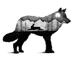 I Draw Thousands Of Tiny Dots To Create These Wild Illustrations | Bored Panda