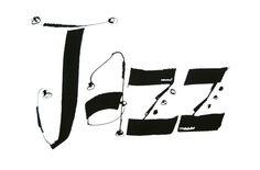 Pamela Paulsrud, Jazz   Contemporary calligraphy