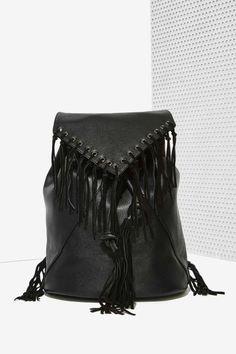 Addison Fringe Backpack