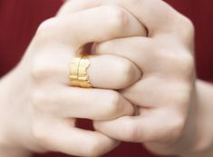 Istanbul Skyline Ring-Statement Ring-Matte Gold by yukabyguliz Gold Plated Rings, One Ring, Matte Gold, Gold Bands, Jewelry Branding, Statement Rings, Jewelry Collection, Istanbul, Adjustable Ring