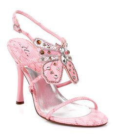 Take a look at this Pink Nola Sandal by Ellie Shoes on #zulily today! $19 !!