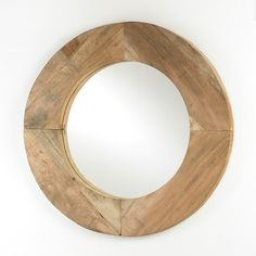 Recycled Scaffold Mirror