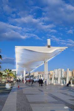 entrada Sur al nuevo puerto de Málaga  Autor : ramtto