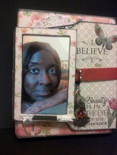 inspiration: Kathy Orta                   My flip flap mini album