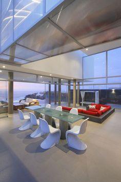 Modern Beach House Contours Following The Sloped Terrain