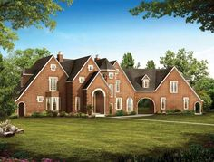 French Country House Plan with 2403 Square Feet and 4 Bedrooms(s) from Dream Home Source | House Plan Code DHSW45302