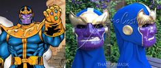 Thanos mask and underhood